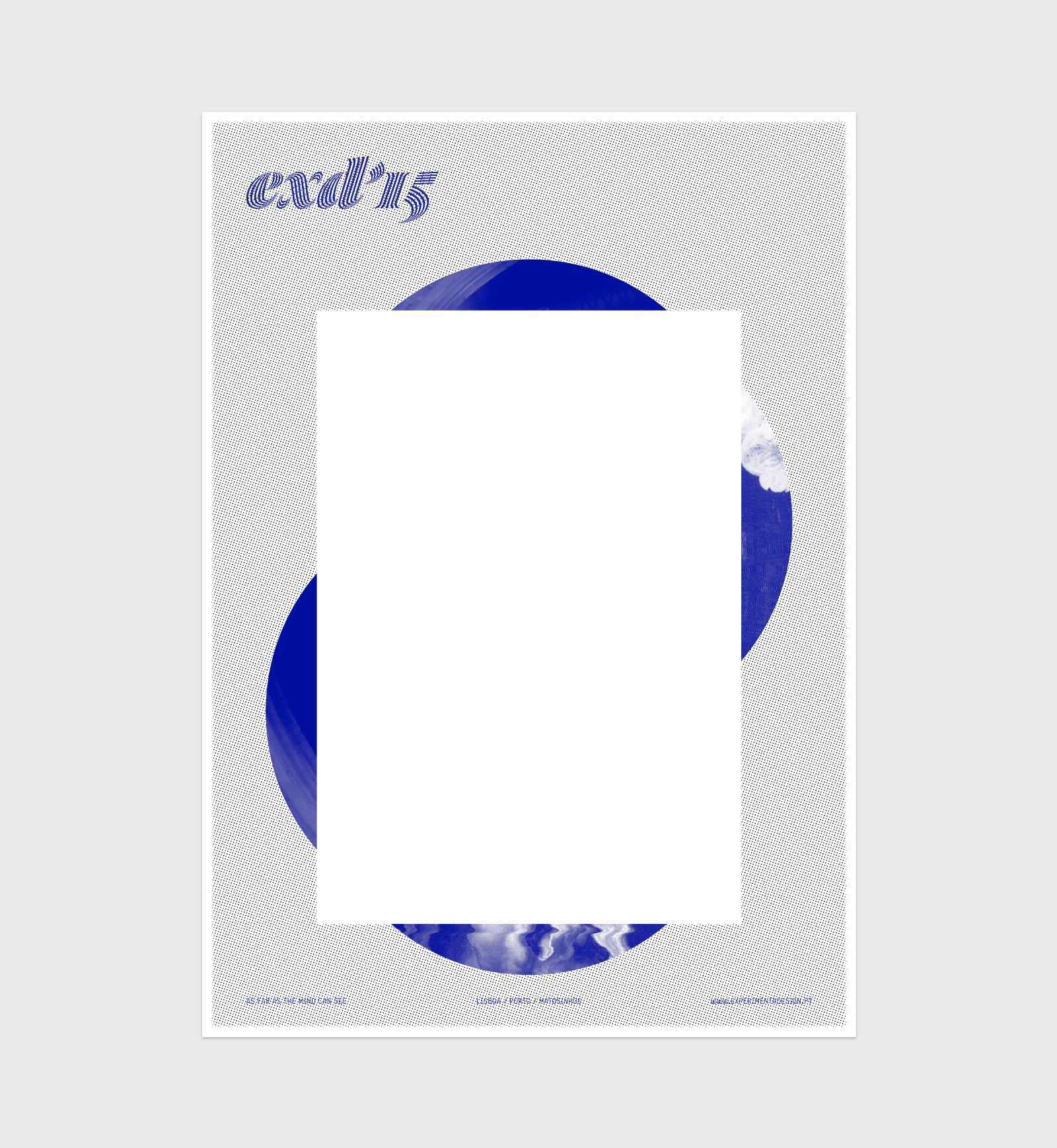 EXD'15 ⟐ Merchandising ⟐ Risograph poster
